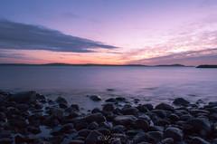Langholmen (jurgita_zuk) Tags: water gothenburg göteborg sweden sverige longexposure colours evening beautiful rocks sunset ngc