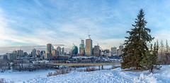Edmonton from Chief's Bench (Judith A. Gale) Tags: yeg edmonton alberta canada