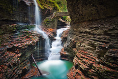 Watkins Glen & Long Exposure (Luís Henrique Boucault) Tags: america bridge canyon color creek deep destination fall falls finger flowing forest glen gorge green high lakes landscape leaves motion nature new outdoors outside park peaceful photography rainbow river rock scenery scenic serene spring stairs state stone stream tall tourism travel trees united upstate wall water waterfall watkins wilderness york