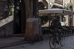Bologna - Via S.Stefano (Massimo Battesini) Tags: bologna cittàmetropolitanadibologna italia it olympusem5markii olympus em5markii panasoniclumixgxvario35100f28 panasonic lumix panasonic35100mmf28 bicicletta vélo bicycle biciclettes bicicletas biciclette bike bikes centrostorico zentrum centreville centromedievale centremédiéval medievalcenter centromedieval città ville city stadt town ciudad photographiederue streetphotography fotografiaderua photosdelavie escenacallejera italy italien italie emiliaromagna europe europa viasantostefano