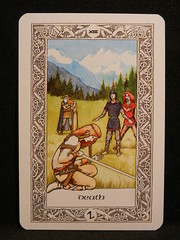 Death. (Oxford77) Tags: tarot thenorsetarot norse viking vikings cards card tarotcards
