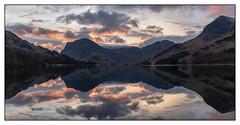 Buttermere Sunrise Pano (shaunyoung365) Tags: landscape buttermere lakedistrict sonya7riii uk sunrise mountains lake