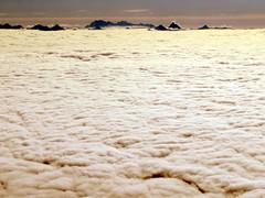 The sea of fog (oobwoodman) Tags: switzerland suisse schweiz aerial aerien luftaufnahme gvavie alps alpen alpes mountains montagne berge clouds nuages wolken nebelmeer brouillard fog seaoffog nebel matterhorn cervin cervino