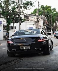 Mercedes-Benz SLS AMG (Pandolfiphotos) Tags: carro car carros o cars brasil bmw auto veiculos moto chevrolet a honda automovel rebaixados ford follow fixa autos like renault volkswagen audi fiat peugeot seguran riodejaneiro hyundai turbo bhfyp instacar ferrari motor supercars mercedes grandi porsche n luxury toyota