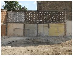 Urban fragment (michelle@c) Tags: urban city cityscape architecture demolition worksite facade wall partition saintdenis 2019 ©michellecourteau