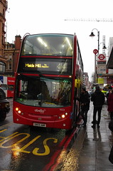 IMGP7549 (Steve Guess) Tags: harrods london england gb uk bromptonroad bus rain abellio alexander dennis enviro 400 sn59awr