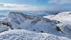 View from the top (Maria-H) Tags: bleaklow snow winter view hills glossop derbyshire highpeak peakdistrict pennines uk olympus omdem1markii panasonic 1235