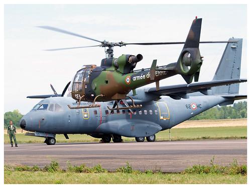 SA 342 M Gazelle - 4205 - GEA | ALAT  & CASA  CN 235 M-300 - 195 - 62-HC | ET 1/62 Vercors