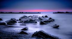Rhapsody in E-Flat Minor (JDS Fine Art Photography) Tags: sunset colors longexposure ndfilter beauty naturalbeauty inspirational serene ocean oceanscape sea seascape serenity