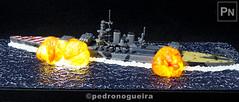Battleship RN Roma, scale 1:1200 (3/3) (Pedro Nogueira Photography) Tags: pedronogueira pedronogueiraphotography photography modelism modelismo hobby toys vallejoacrylics showcase acrylicosvallejo battleship italian rnroma naval wwii