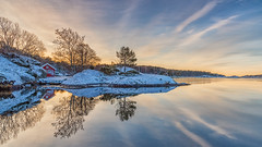IMGP1090 (jarle.kvam) Tags: littleredcabin tromøy winter norway