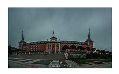 (FERN/\NDO /\LBORNOZ) Tags: urban sky cloudy architecture army air force rainy day building fine art colors street perspective wideangle sony a6300 sonyalpha canon 1018mm museum military 1018