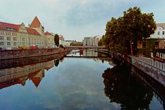 Berlin Spree Mitte 2.7.2018 (rieblinga) Tags: berlin mitte spree morgens bode museum insel 272018 analog fuji gsw 690 iii kodak ektar 100 c41