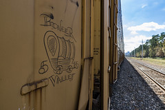 (o texano) Tags: houston texas graffiti trains freights bench benching moniker pioneervalley