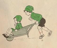 sijtje  Aafjes  Nieuwe oogst voor de kleintjes 1925, ill pg  25 (janwillemsen) Tags: sijtjaafjes bookillustration 1925 schoolbook childrensbook