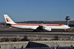 EC-JNQ A340-642 Iberia (eigjb) Tags: lemd madrid barajas international airport aeropuerto espana spain jet airliner transport aviation plane spotting aircraft airplane aeroplane 2019 a340642 iberia a340 airbus ecjnq
