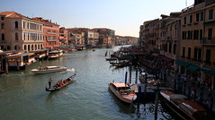 The Grand Canal (captures.in.time) Tags: italy venice grand canal grandcanal gondola watertaxi cityscape
