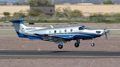 Pilatus PC-12/47E N566GL (ChrisK48) Tags: kdvt aircraft airplane n566gl phoenixaz 2015 greenlightaviationllc dvt phoenixdeervalleyairport pilatuspc1247e