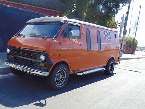 Matt Foley's van down by the river, & smokin' doobies