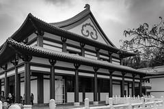 Zu Lai Temple in HDR (elcio.reis) Tags: arquitetura sãopaulo foguangshan nikon templozulai brasil brazil zulai architecture vintage cotia hdr temple templo br