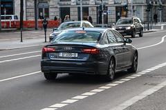 Germany Diplomatic (Slovenia) - Audi A6 Sedan C7 2015 (PrincepsLS) Tags: germany german diplomatic license plate 155 slovenia berlin spotting audi a6 sedan c7 2015