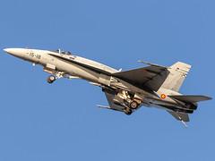 CFR9282 EF-18A+ Hornet C.15-31 (Carlos F1) Tags: nikon d300 aircraft airplane aeronave aeroplane airshow festivalaereo festival display lleida alguaire leda ild airforce c1531 mcdonnelldouglasef18ahornet hornet mcdonnelldouglas mcdonnell douglas ef18a f18 spain avión aviación