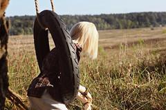 Old tire swing (IamRina_) Tags: bjd doll abjd bjdboy