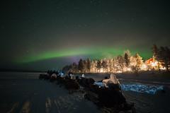 Noordkaap Challenge (Hotel Korpikartano) Tags: hotelkorpikartano korpikartanofi menesjarvi inarilapland laplandfinland lappi finland northernlights auroraborealis revontulet