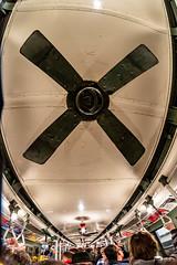 Ceiling Fan (skingld) Tags: underground manhattan fisheyelens newyorkcity mta fantasmic metropolitantransportationauthority historictrain christmastime