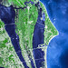 The John F. Kennedy Space Center, America's spaceport, is located along Florida's eastern shore on Cape Canaveral. Original from NASA. Digitally enhanced by rawpixel.