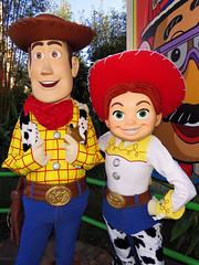 Woody and Jessie (meeko_) Tags: woody jessie toy toystory pixar characters disneycharacters pixarcharacters toystoryland disneys hollywood studios disneyshollywoodstudios themepark walt disney world waltdisneyworld florida