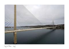 Brest - Le pont d'Iroise (Bruno-photos2013) Tags: brest pont bridge iroise océan bretagne paysagemaritime paysage breton