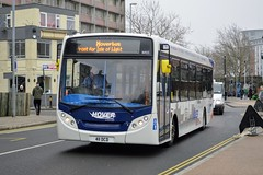 36925 411DCD (PD3.) Tags: 36925 411dcd 411 dcd adl enviro 200 hoverbus hover hovertravel interchange station hard gunwharf quays bus buses psv pcv hampshire hants england uk portsmouth stagecoach