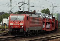128081 189 063 Basel Bad Station 15.07.2011 (31417) Tags: 189063 189 siemens db switzerland basel