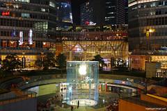 IFC Mall Shanghai (rogelio g arcangel) Tags: shanghai china pudong shanghaipudong applestoreshanghai applestorepudong ifcmallshanghai asia travel asiatravel canon canonphotography travelphotography shanghai2015 autumn2015