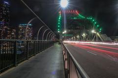 Story Bridge Long Exposure (Al Kerr) Tags: story bridge brisbane australia canon night long exposure g7x mark ii