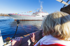 20181215_Y5A8642_m (LCS Team Freedom) Tags: 2018 christening lcs lcs19 launch littoralcombatship marinette shipyard stlouis usnavy usn wi wisconsin