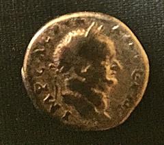 Vespasian denarius (ambrett) Tags: coin ancient