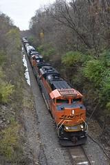 Burlington Cut (R.G. Five) Tags: burlington rd bnsf train railroad il oregon aurora sub