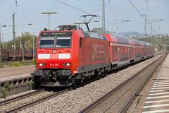 DB 146 115 Weil am Rhein (daveymills37886) Tags: db 146 115 weil am rhein baureihe traxx bombardier