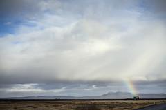 sometimes you just need rainbows (lawatt) Tags: rainbow sky clouds house landscape iceland sonya7 leica 50mm summicronr