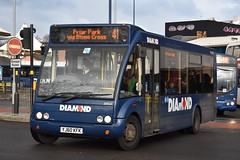 'Diamond' Optare Solo '20743' (YJ60 KFK) (K.L.Jenkins) Tags: diamond optare solo 20743 yj60kfk westbromwich bus station