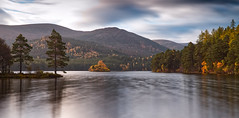 Loch an Eilein (captures.in.time) Tags: landscape landscapephotography photography scotland aviemore cairngorms nationalpark highlands grampian loch lake lochaneilein castle tree pine travel sky sunrise glow autumn ngc ngm nationalgeographic lonelyplanet
