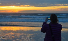 DSC_0481 (afagen) Tags: california pacificgrove asilomarstatebeach montereypeninsula asilomar beach pacificocean ocean sunset dusk photography phone samsung smartphone
