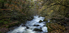 Along the Lyn IV (chairman.bill) Tags: exmoor devon riverlyn autumn fall