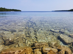 Little Dunk's Bay (Dionepsoc) Tags: littledunksbay brucepeninsula tobermory ontario canada crystalclearwater water lake georgianbay