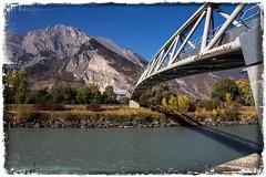 Sur la route de Sion - Suisse (jamesreed68) Tags: pont bridge suisse nature paysage switzerland schweiz swiss rivière