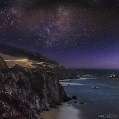 Journey Towards Our Galaxy (GreatPikse) Tags: bigsur beach beauty beautiful backpacking climbing mountains milkyway mountain travel utah astrophotography nature galaxy greatpikse landscape nikon california colors colorful coast space