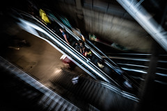 Paris (tomabenz) Tags: escalator france sony a7rm2 urban zooming paris streetshot street people urbanexplorer zeiss streetview a7 europe human geometry photography humaningeometry sonya7rm2 sonya7 streetphotography