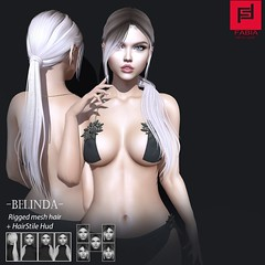 Belinda (FABIA.HAIR) Tags: 3d fashionlook fashion virtual virtuallife mesh meshhair hair rigged beauty look piktures fabia nice meef head special sl second secondlife sweet event hairstyle style life lovely avatar spam shopping new release best love everyday art shop women locks girl kinky